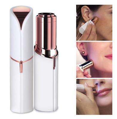 Womens Mini Flawless Skin Painless Hair Remover Face Facial Finish Touch Shaver