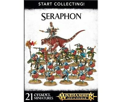 Warhammer Age of Sigmar 70-88 Start Collecting! Seraphon