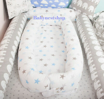 Portable crib, travel cot Toddler nest bed grand co sleeper lounger cushion pod