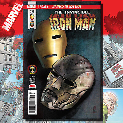 The Invincible Iron Man #598, Legacy - Marvel Comics