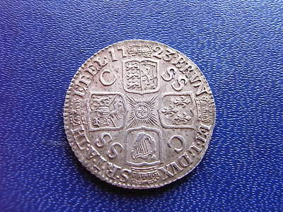 George I Silver SSC Shilling 1723