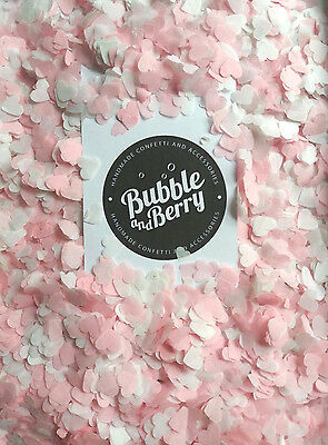 3000 small HEART Confetti - Assorted mix, Pink, Mint, Ivory, Purple, Blue, red