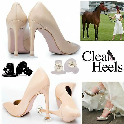 Clean Heels Stoppers Wedding Races High Heel Stiletto Diamante Shoe Protectors