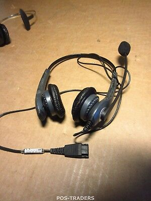 JABRA GN 2000 Duo UC Binaural USB Noise Canceling Headset with Wideband + CABLE