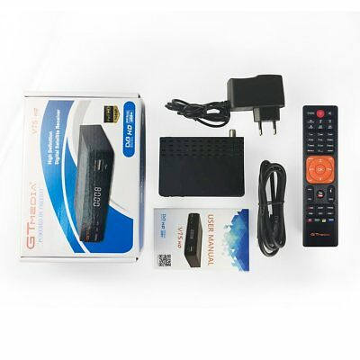 RICEVITORE SATELLITARE Decoder DVB S2 HDMI HD 1080p RECORDER USB + HDMI Kabel ~@