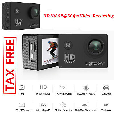 HD Sports Action Cheap Vlog Vlogging Camera Accessories Kit For Youtube
