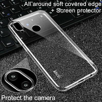 IMAK For Huawei P20 /Pro /Lite Slim Clear Transparent Soft Case Rubber Cover