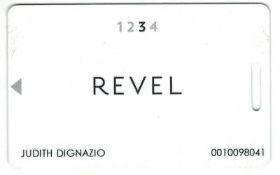 Revel Casino Hotel Players Slot Card Atlantic City NJ 2012 to 2014 Now Closed