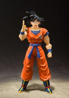 Dragon Ball Z Son-Goku Zu Saiyan Raised On Earth S.h. Bandai Figuarts Neu