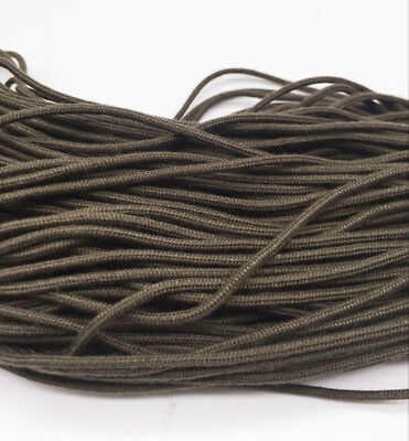 New 2mm Diameter 300Ft Parachute Cord Paracord Lanyard Survival  brown