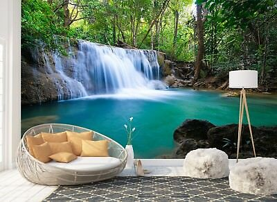 Wall Mural Photo Wallpaper Picture EASY-INSTALL Fleece Waterfall Natural Water