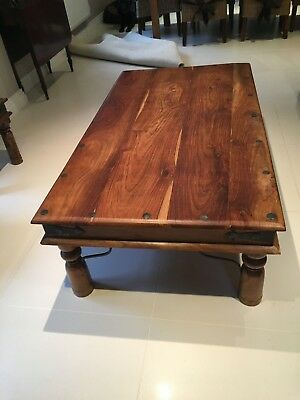 INDIAN SHEESHAM Thakat Wood Coffee Table Side Table 6000
