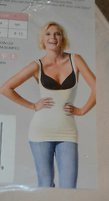 Set of 2 Bumped by BLANQI Open Bust Postpartum Support Cami Top Size M/L