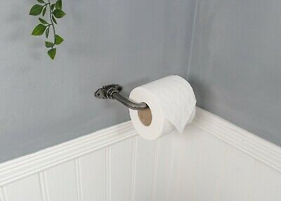 Toilet Roll Holder, Vintage,  Industrial,  Cast Iron,  Wall Mounted,  Steampunk
