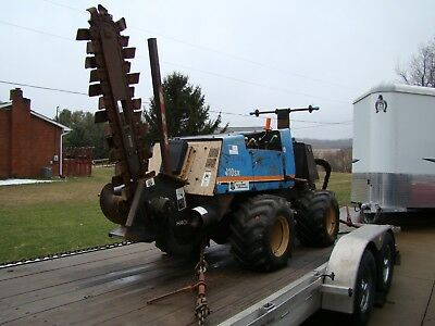 2000 Ditch Witch 410SX Trencher / Cable Plow