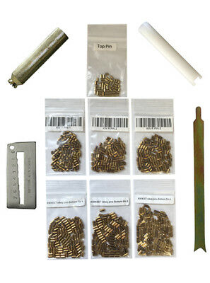 Kwikset Rekey Kit Locksmith Rekeying Pin Kits 100 PC Bottom Pins 50 Top 4 Tools