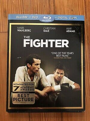 The Fighter w/ Slip Cover  (Blu Ray / DVD, 2-Disc)