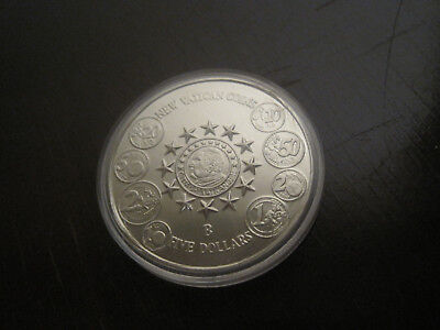 Liberia 2004 Five Dollars -New Vatican Coins, 33mm,ca.15gr.  #1007