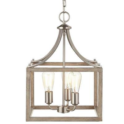 Home Decorators Boswell Quarter Collection 3 Light Brushed