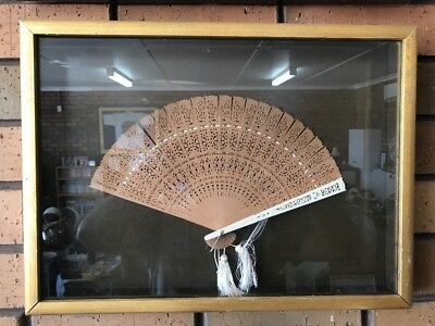 Framed Hand Fan