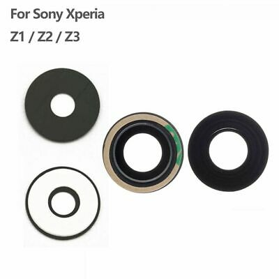 Back Camera Glass Lens Cover & Adhesive Repair For Sony Xperia Z1 Z2 Z3 Z4 Z5