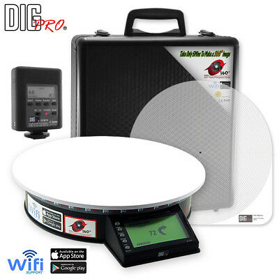 DigPro 360 Product Photography System Turntable with WiFi Transmitter (Pro)