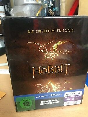 Die Hobbit Trilogie (3 Steelbooks + Bilbo's Journal) [Blu-ray] [Limited Edition]