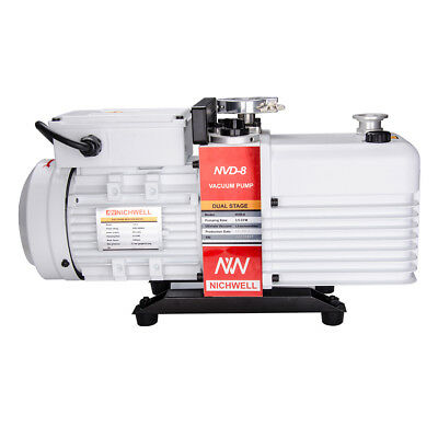 NVD-8  3.5 cfm Corrosion-Resist Commercial Grade 2-Stage Vacuum Pump Oven