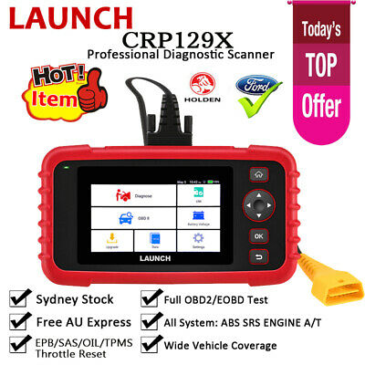 AUTEL AL539B OBD2 Auto Diagnostic OBDII Scan Tool Car Battery Tester FORD HOLDEN