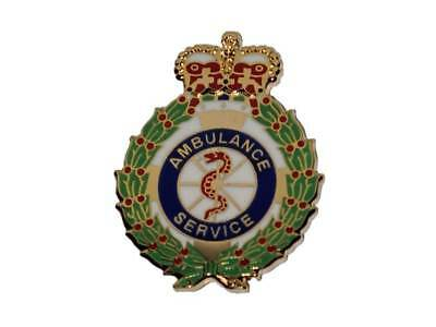 Ambulance Service Crown Tie Pin Lapel Badge for Paramedic Student EMT Medic 999