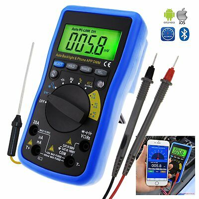 Multimeter DMM Bluetooth Auto Angebot Durchgangstest w/ iOS & Android Mobile App