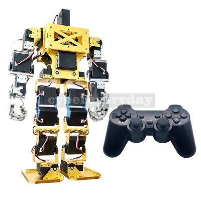 Assembled 17DOF Biped Robot Humanoid Anthropomorphic Combat Robot for DIY