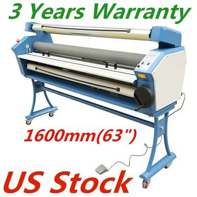 """US - Upgraded 63"""" Entry Level Wide Format Full-auto Roll to Roll Cold Laminator"""
