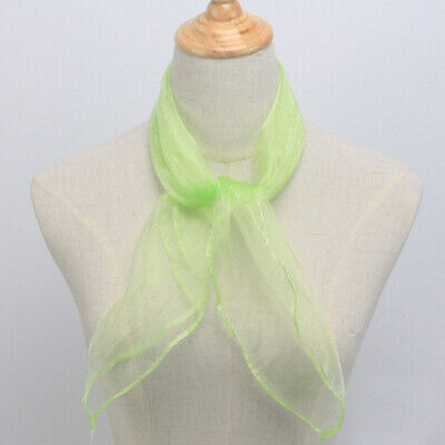 Fashion Women Twilly Small Ribbon Scarf Hair Band Bag Tied Handle Silk Wraps