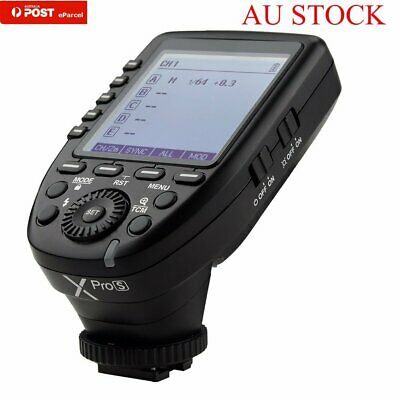 AU GODOX XPro-S 2.4G TTL HSS Wireless Trigger Transmitter For Sony New MI Camera