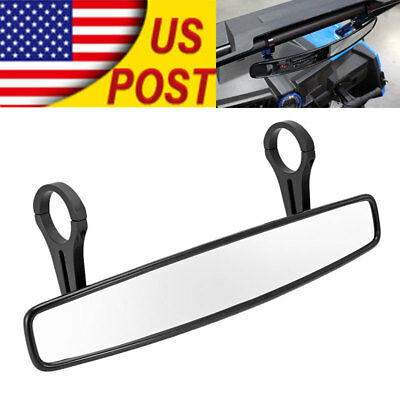 "1.75"" UTV Wide Rear View Mirror for ROUND ROLL BAR Polaris RZR XP 4 Arctic Cat"