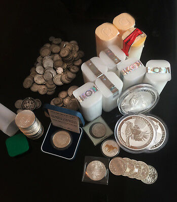 Selling All My Silver Bullion - Almost 300 Ounces Collection!