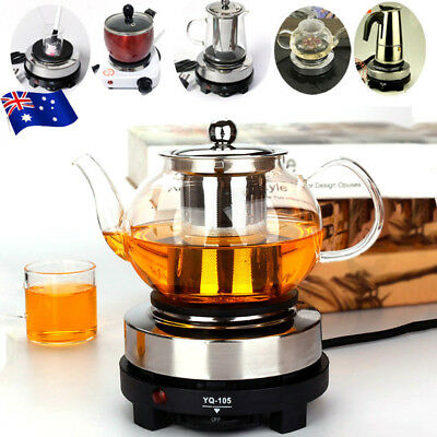 220V Multifunctional Mini Stove Cooking Hot Plate Coffee Heater Electric 500W AU