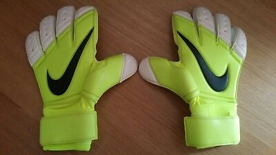 Nike GK Premier SGT Promo Goalkeeper Gloves (Yellow/Volt/Fluo) - UK