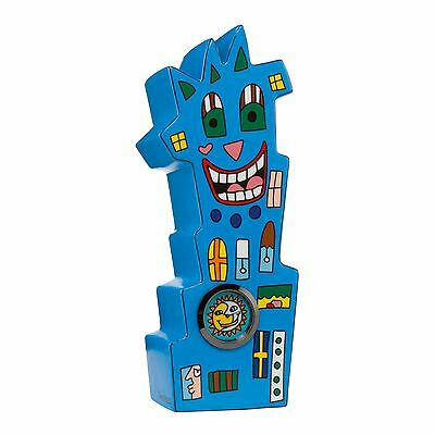 "James Rizzi: ""WATCH TOWER"", Uhr, Skulptur, Goebel Porzellan, neu, TOP ANGEBOT"