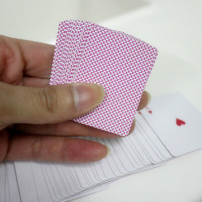 5.3*3.8*2cm Black/Red Paper Mini Poker Cards Fun Miniature Small Playing Cards