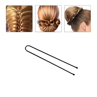 30x Forcine per Capelli Fermagli Lisci Accessori Acconciatura Donna 5.5 cm NERO
