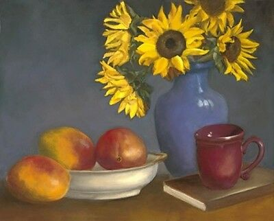 Oil Painting Direct From Artist (Still Life. LIMITED EDITION GICLEE ON SALE!)