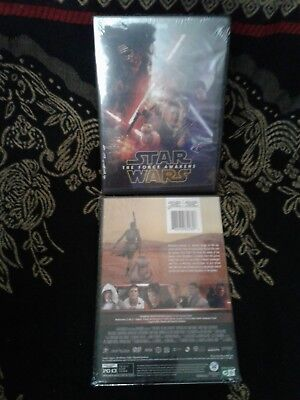 Star Wars Episode VII: The Force Awakens (DVD, 2016) BRAND New