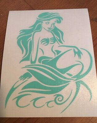 The Little Mermaid Ariel Car Window Sticker Decal