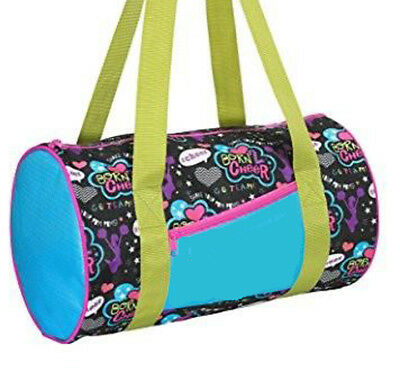 FREE SHIPPING Black with Multicolor Cheer Bag Duffel