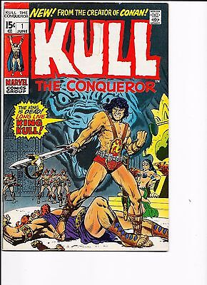 Marvel Comics Kull the Conqueror 1st Issue No 1 FN Cents Copy