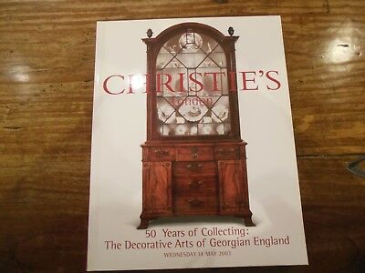 CHRISTIES London, 50 Years of Collecting The Decorative Arts of Georgian England