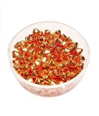 Copper Bicone Beads / 4.8 MM / Pkg. of 144 /  Copper Beads