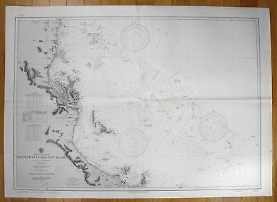1943 Australia - East Coast - Double Point to Magnetic Island Australien map